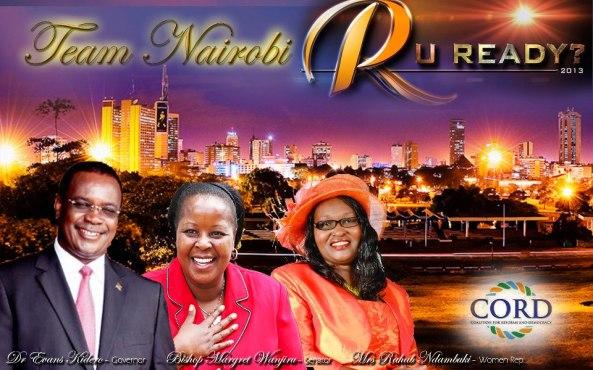 Nairobi County - CORDed