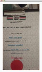itumbis fake certificate